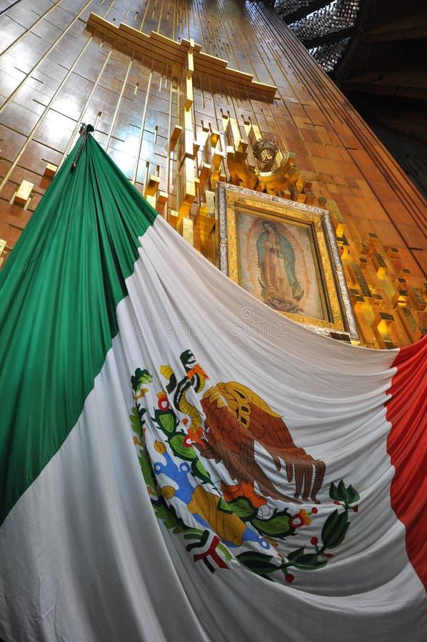 Basílica de nuestra señora de Guadalupe, Ciudad de México imagen de archivo