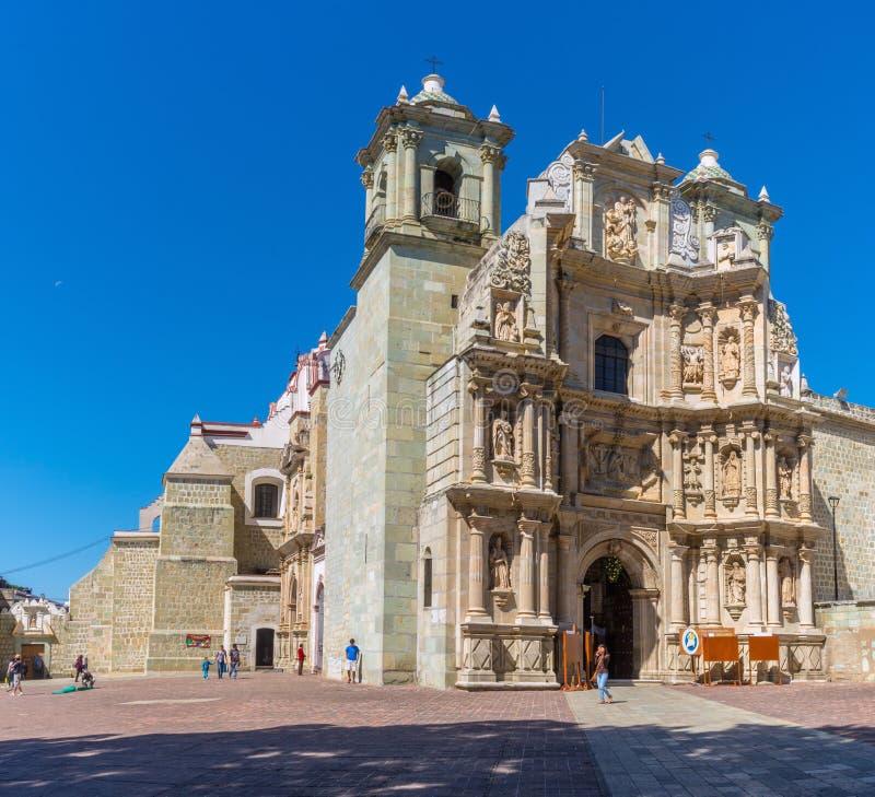 Basílica de nuestra señora de la soledad en Oaxaca de Juarez, México imagen de archivo libre de regalías