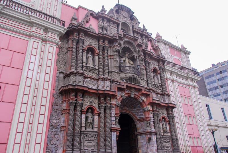 Basílica de Nuestra Senora de la Merced imagem de stock royalty free