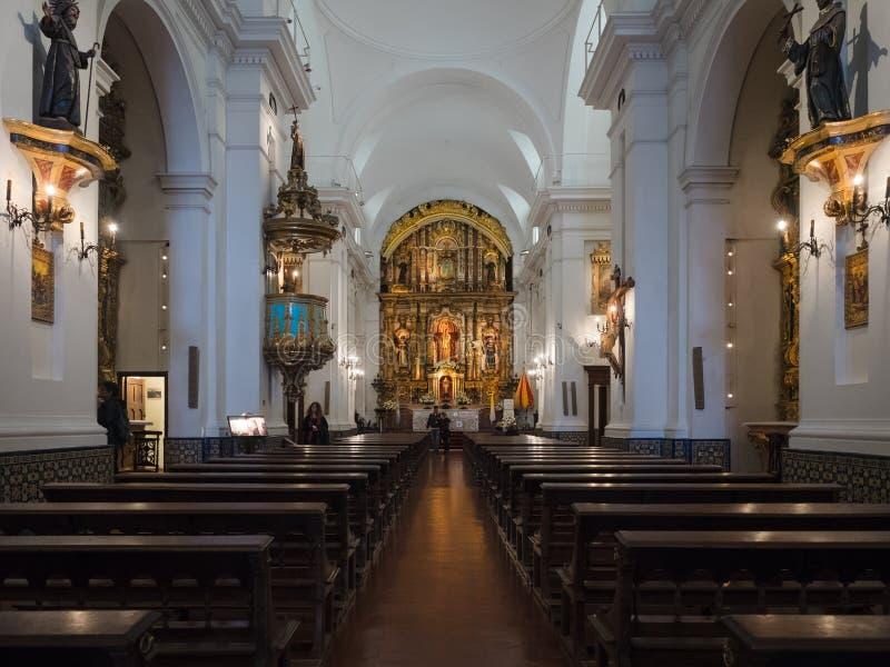 Basílica de Nuestra Senora del Pilar, Buenos Aires, Argentina fotos de stock royalty free