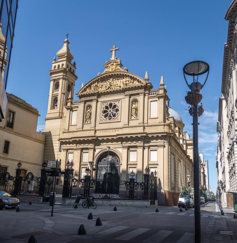 Basílica de Nuestra Senora de la Merced Church - Buenos Aires, Argentina imagens de stock