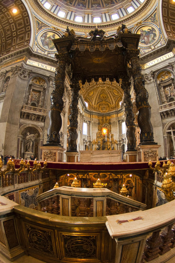 Basílica de Peter de Saint imagem de stock royalty free