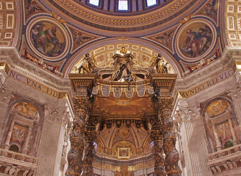 Basílica de Peter de Saint imagens de stock