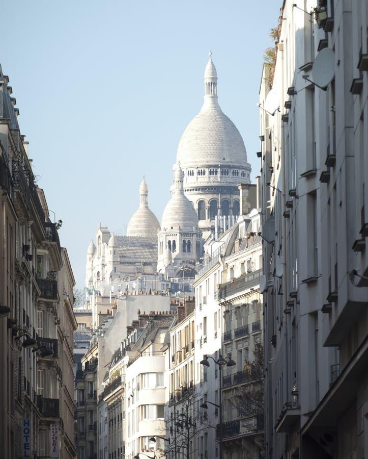 Basílica de Sacre Coeur em Paris fotografia de stock royalty free