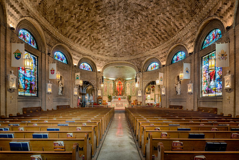 Basílica de Saint Lawrence fotografia de stock