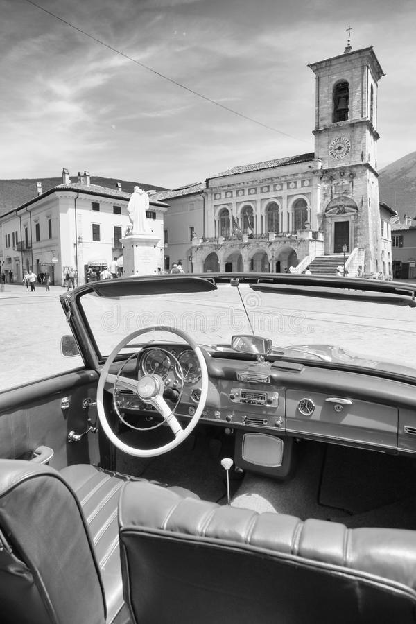 Basílica de San Benedetto foto de archivo