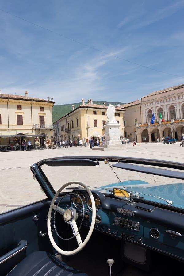 Basílica de San Benedetto foto de archivo libre de regalías