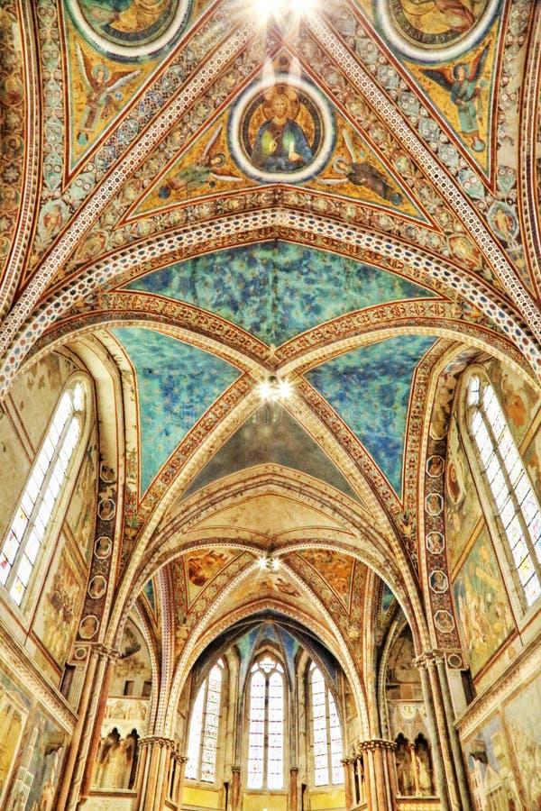 A basílica de San Francesco foto de stock