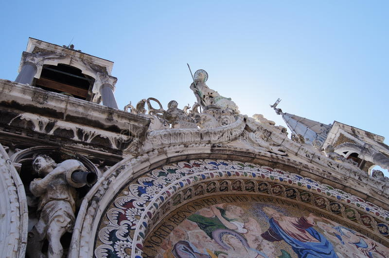 Basílica de San Marcos imagenes de archivo