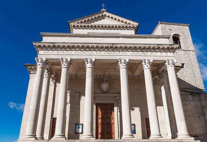 Basílica de San Marino fotos de archivo