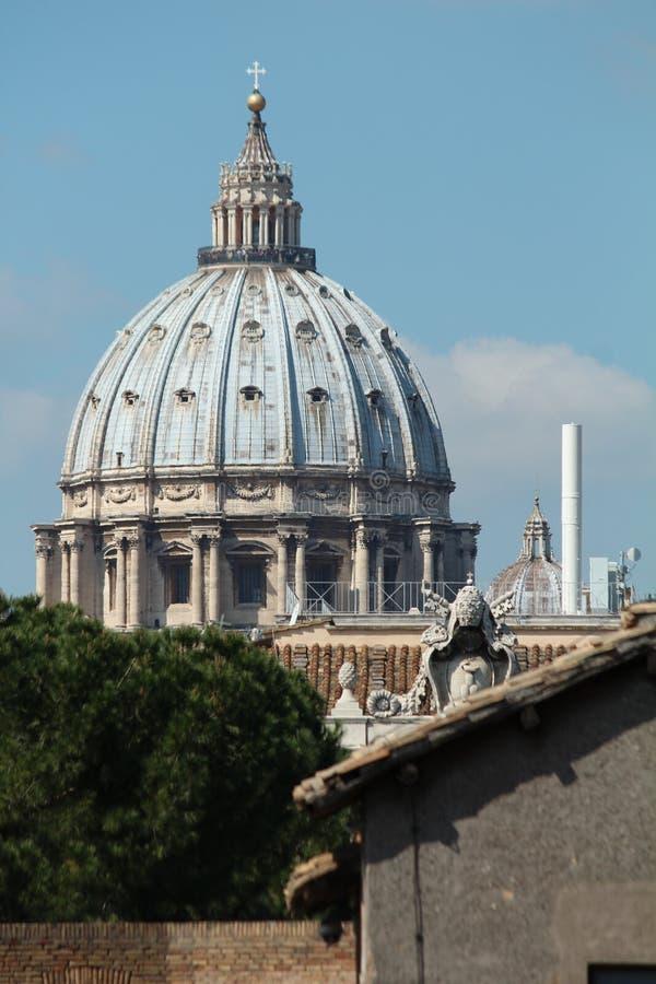 Basílica de San Pedro del Vaticano fotografía de archivo libre de regalías
