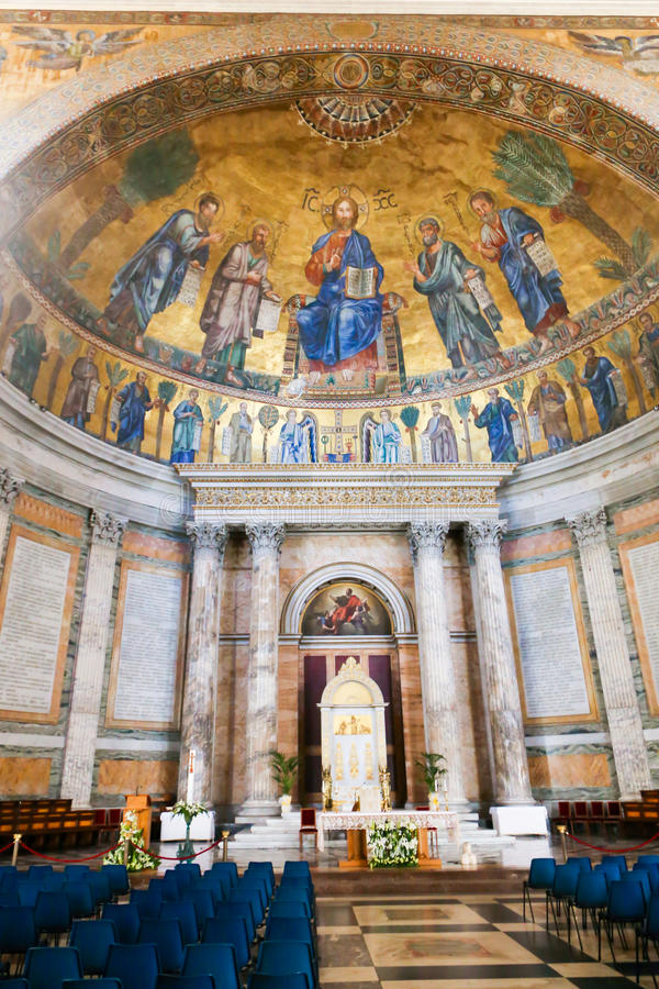 Basílica de San Pedro, Vatican, Italia imágenes de archivo libres de regalías