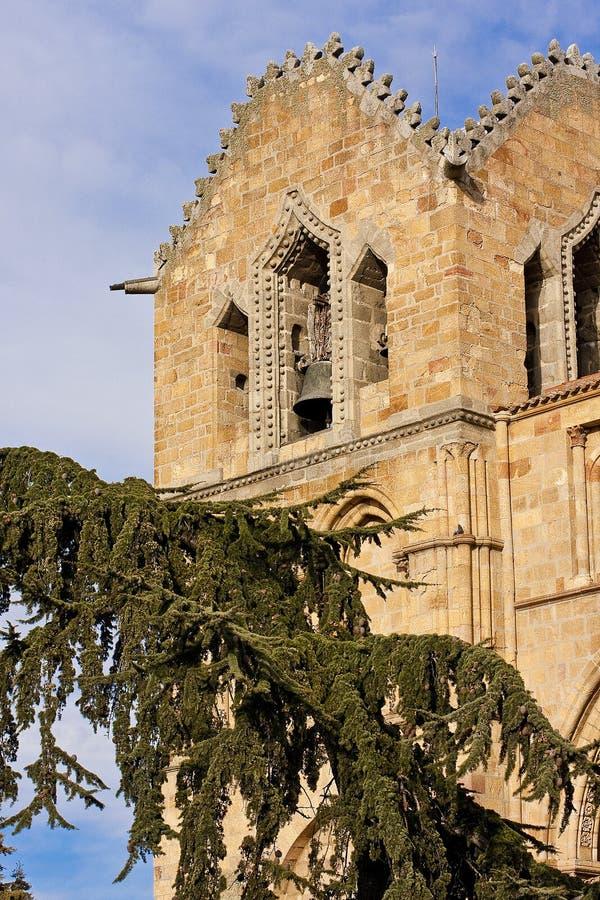 Basílica de San Vicente en Ávila fotografía de archivo libre de regalías