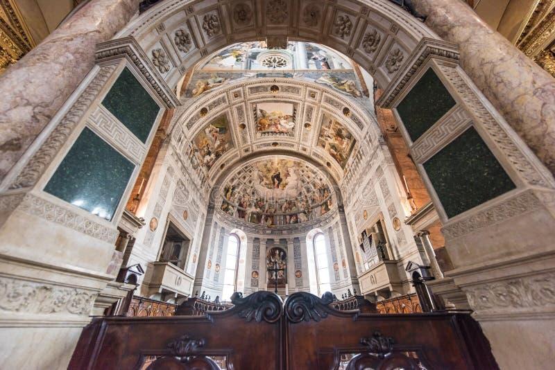 Basílica de San Zeno, Verona, Itália fotos de stock