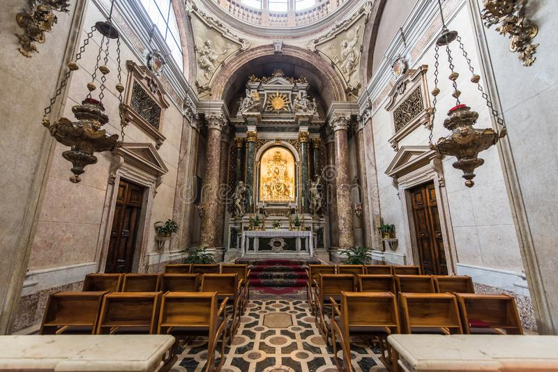 Basílica de San Zeno, Verona, Itália fotografia de stock royalty free
