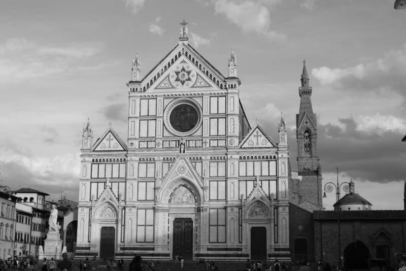 Basílica de Santa Croce foto de archivo libre de regalías
