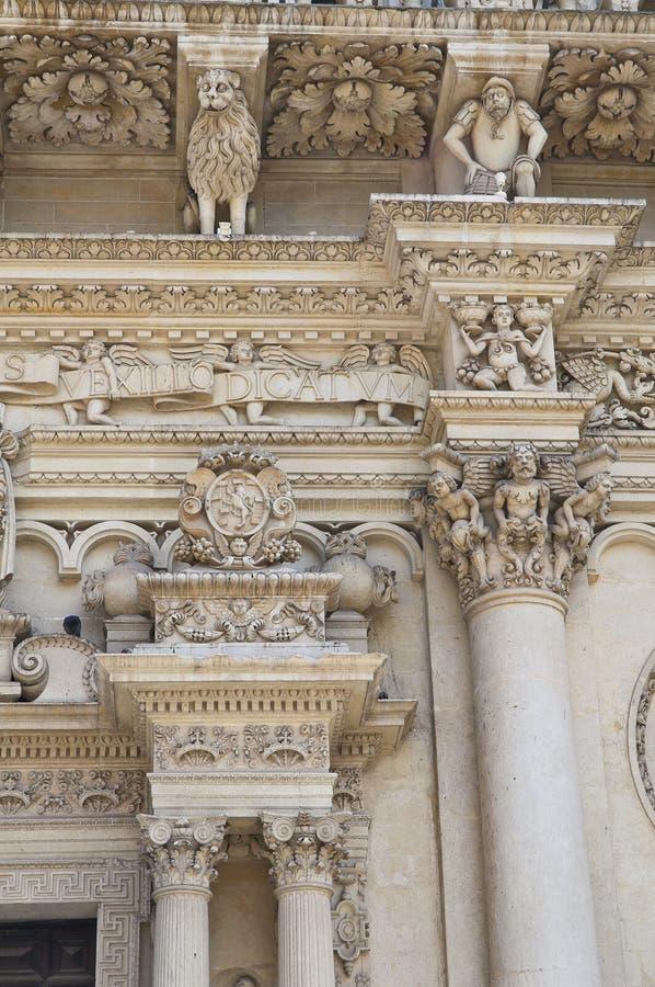 Basílica de Santa Croce. Lecce. Puglia. Italy. foto de stock