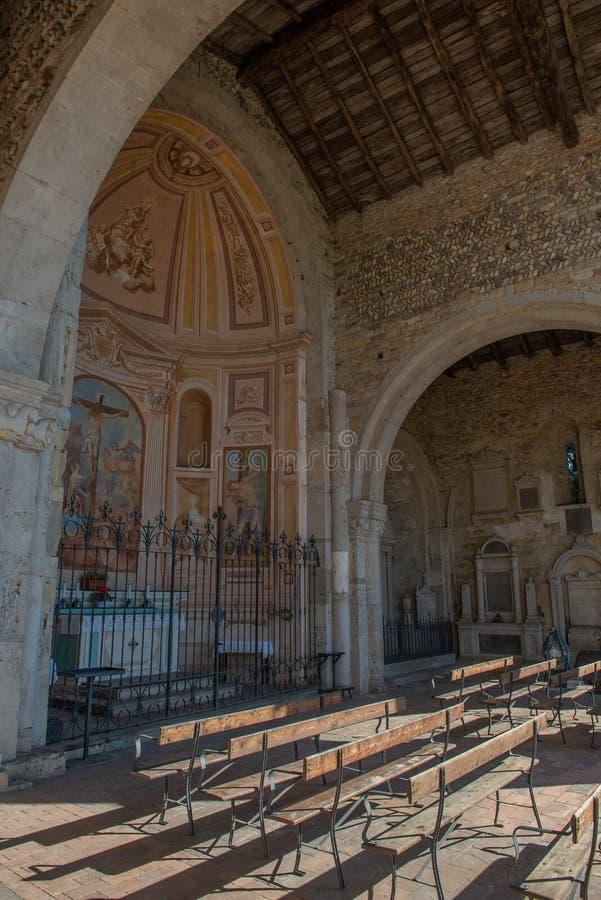 Basílica de Santa Giulia de Bonate Sotto fotos de archivo libres de regalías