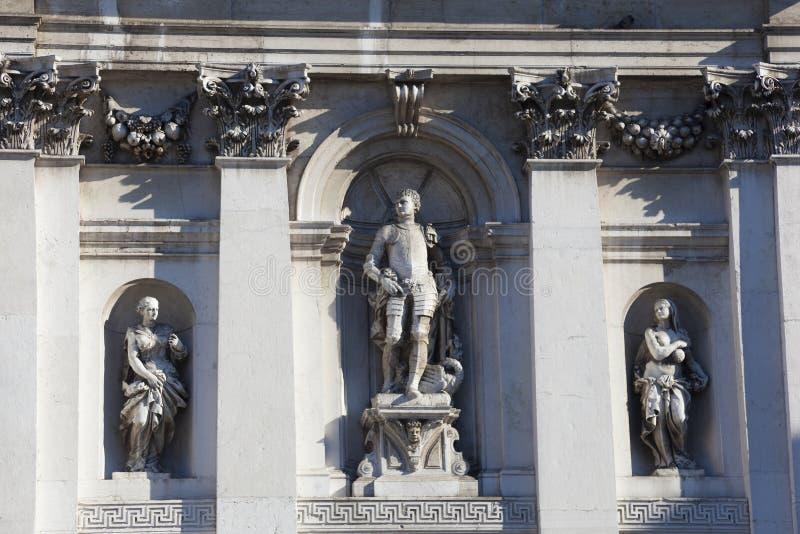 Basílica de Santa Maria della Salud, Venecia fotos de archivo libres de regalías