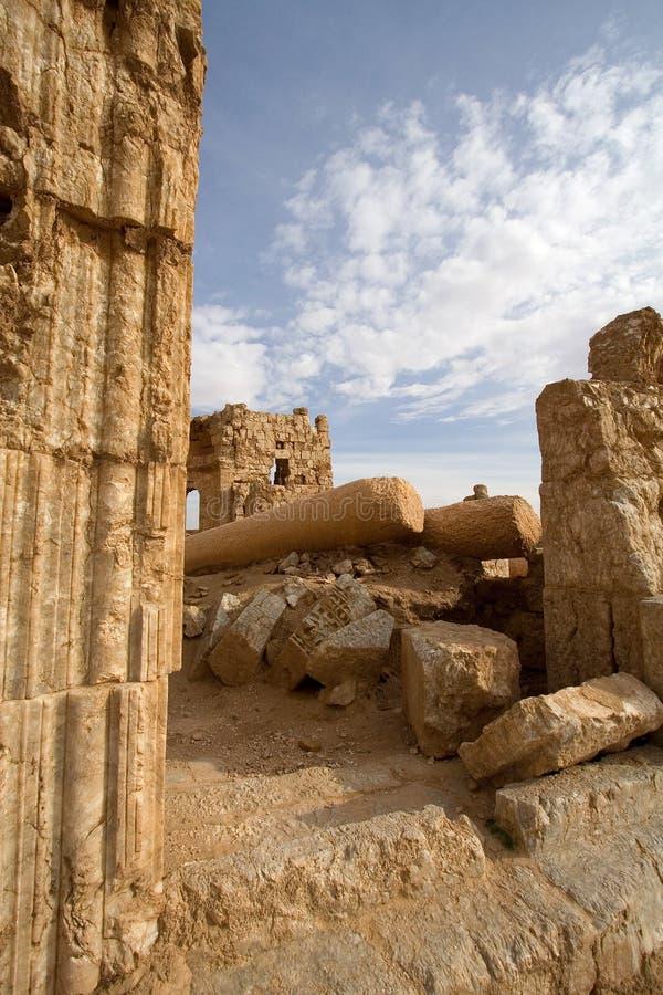 Basílica de Sergius del santo en Rasafa fotos de archivo