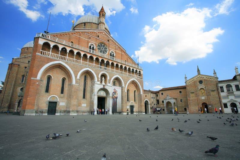 Basílica de St. Anthony imágenes de archivo libres de regalías