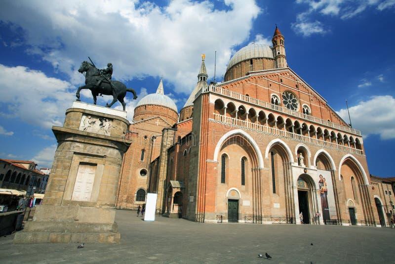 Basílica de St. Anthony fotografía de archivo libre de regalías