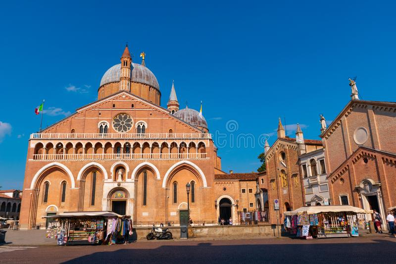 Basílica de St Anthony de Pádua, fotografia de stock