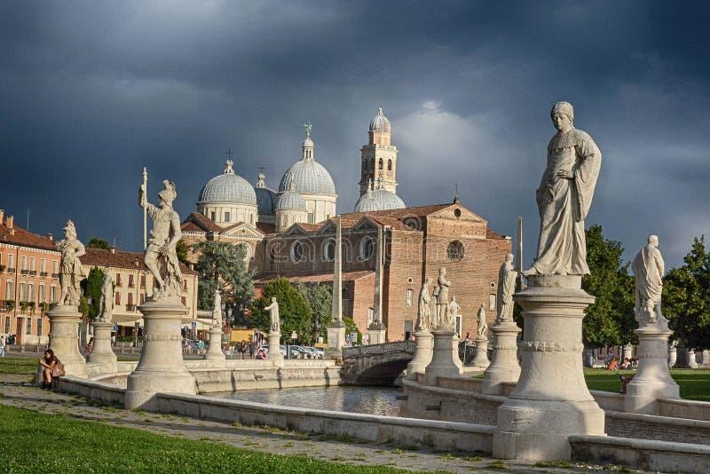 Basílica de St Anthony de Padua, Italia fotos de archivo