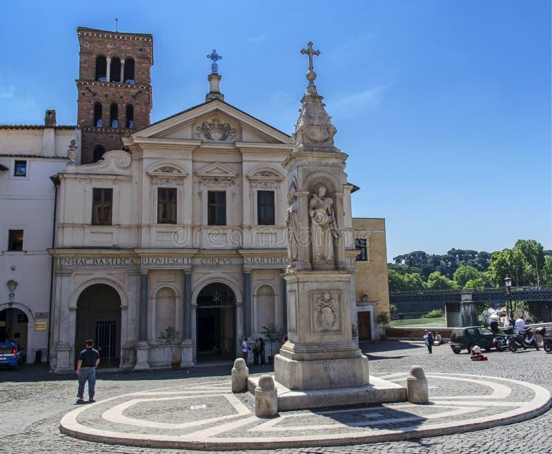Download Basílica de St Bartholomew foto de archivo editorial. Imagen de gente - 41901863