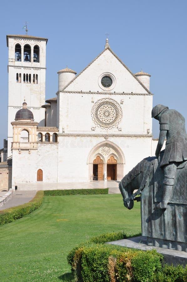 Basílica de St Francesco Assisi imágenes de archivo libres de regalías