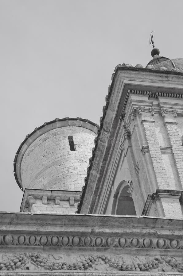 Basílica de St Francis en Assisi, Italia fotografía de archivo