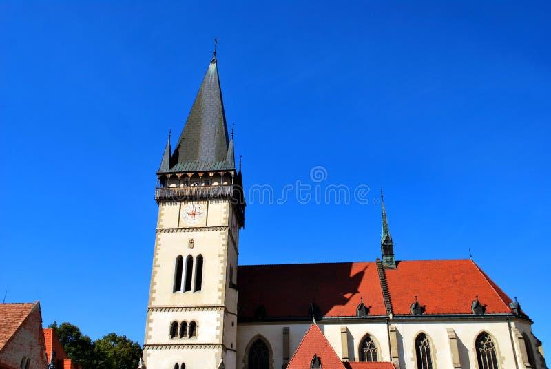 A basílica de St Giles foto de stock