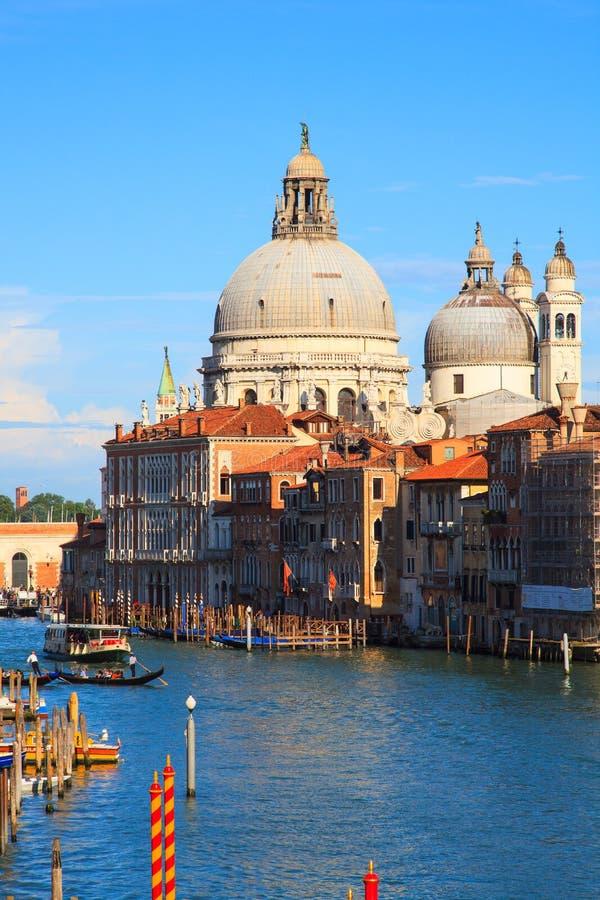 Basílica de St Mary de la salud, Venecia fotos de archivo libres de regalías