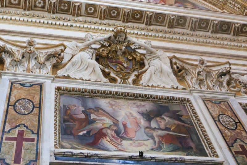 Basílica de St Peter, Vatican fotos de stock