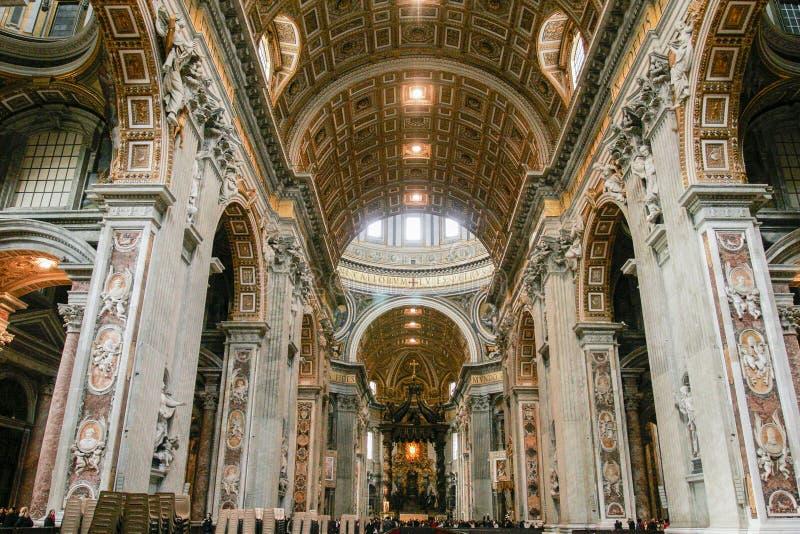 Basílica de St Peters imagem de stock