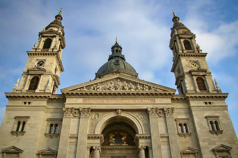 Basílica de Stephen de Saint imagem de stock