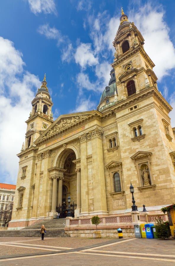 Basílica de Stephen de Saint, Budapest, Hungria fotos de stock royalty free