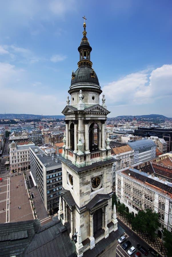 Basílica de Stephen de Saint em Budapest fotografia de stock royalty free
