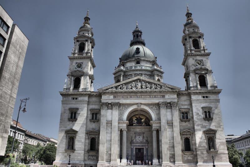 Basílica de Stephen de Saint em Budapest foto de stock