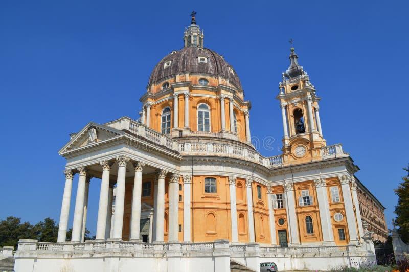 Basílica de Superga fotografía de archivo
