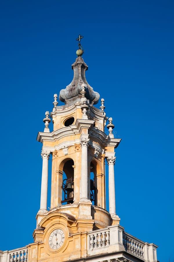 Basílica de Superga, Turin, Itália foto de stock royalty free