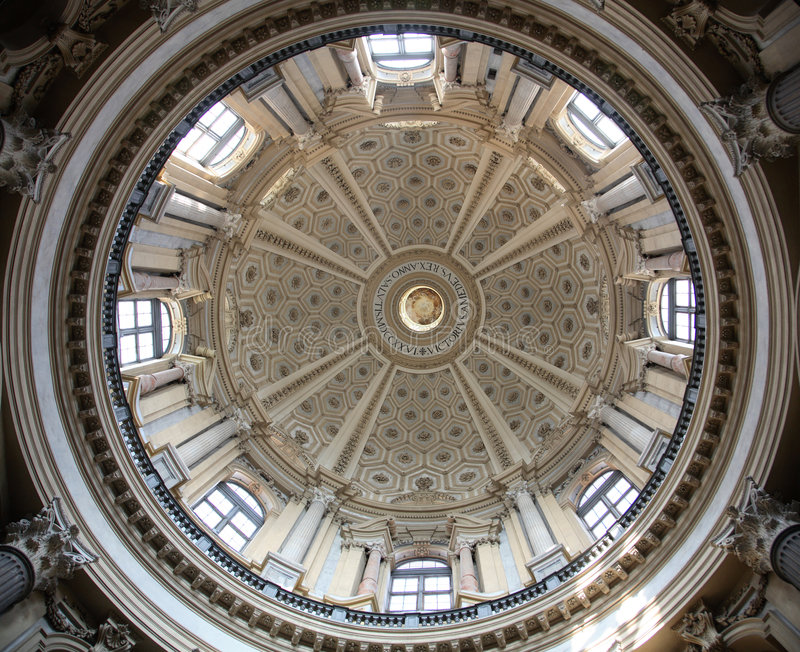 Basílica de Turin de Superga imagens de stock