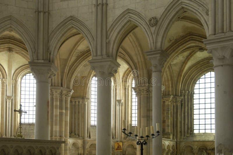Basílica de Vezelay fotos de stock royalty free