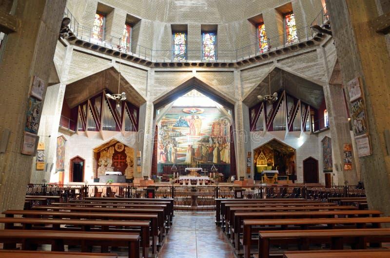 Basílica del anuncio foto de archivo