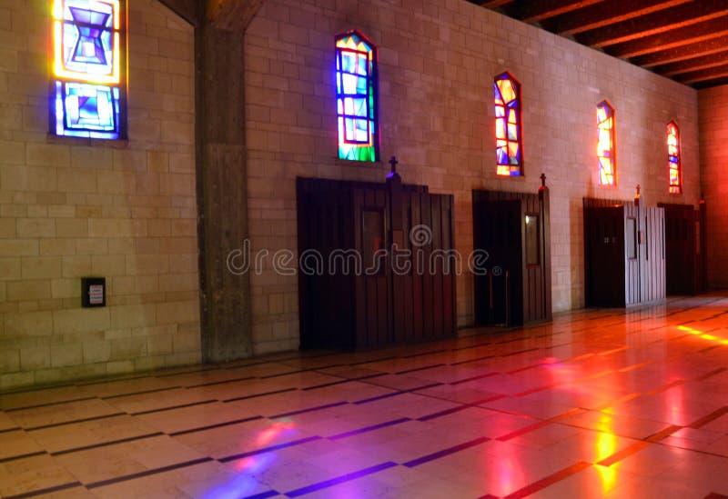Basílica del anuncio imagenes de archivo