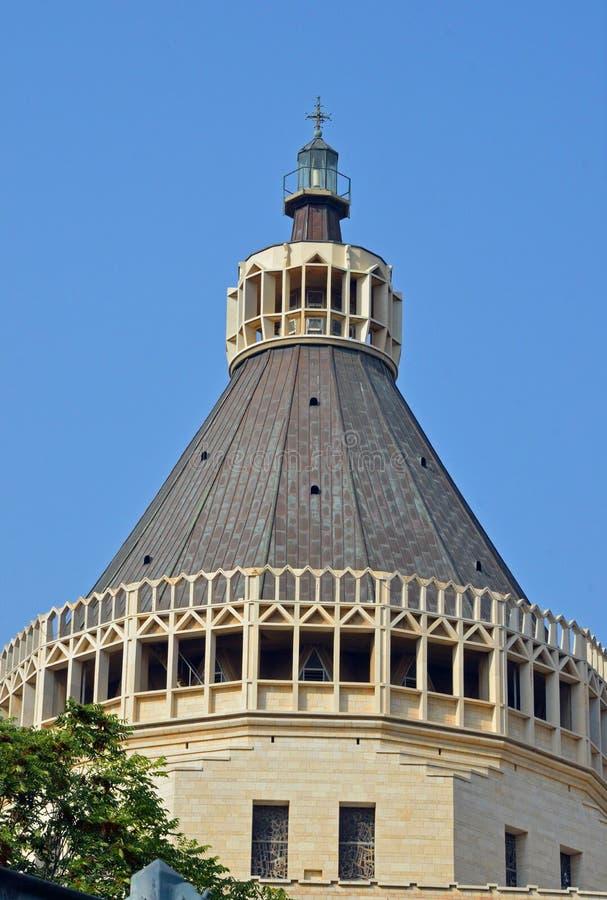 Basílica del anuncio imagen de archivo