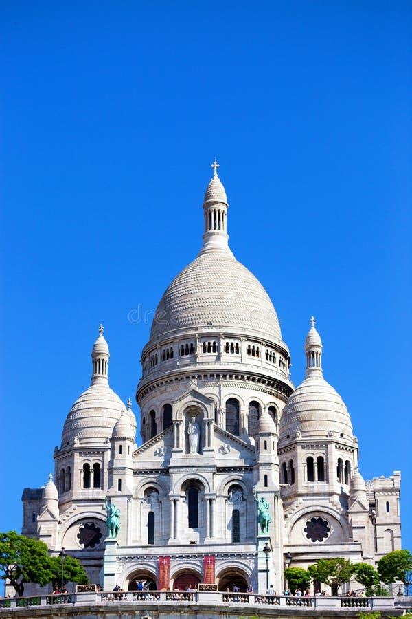 Basílica del corazón sagrado fotografía de archivo libre de regalías