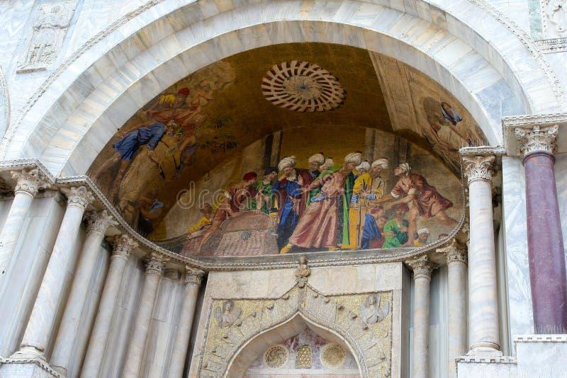 Basílica del palacio y de St Mark del dux imágenes de archivo libres de regalías