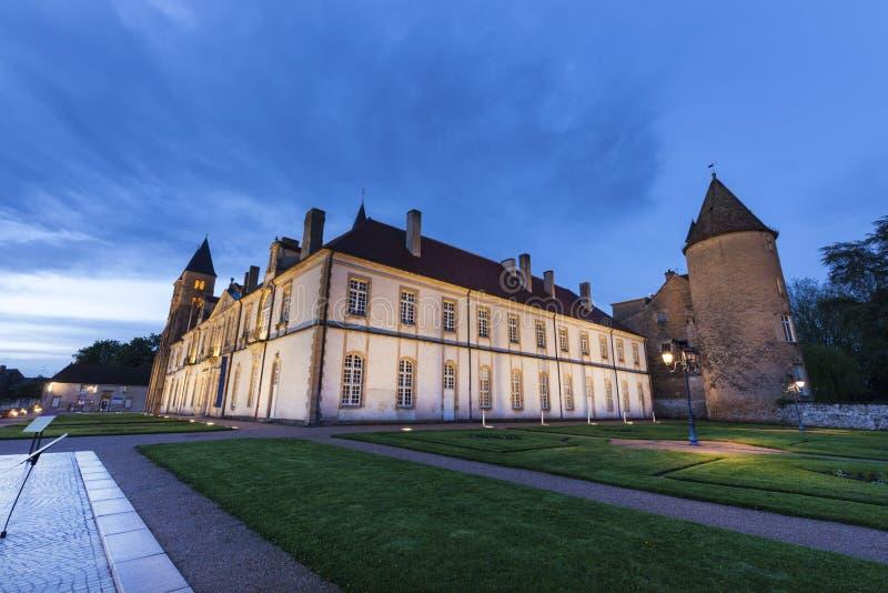 Basílica del Paray-le-Monial fotos de archivo libres de regalías