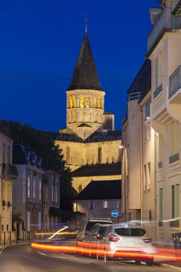 Basílica del Paray-le-Monial imágenes de archivo libres de regalías